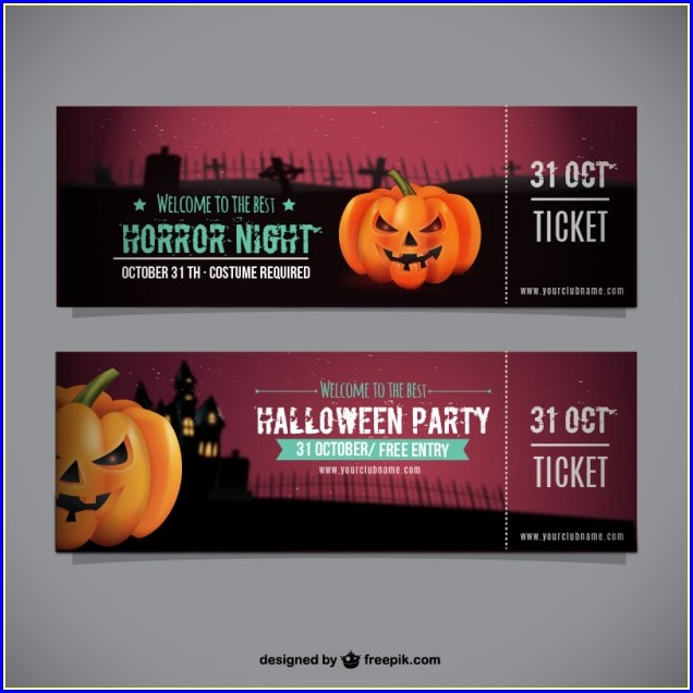 Free Entry Ticket Template