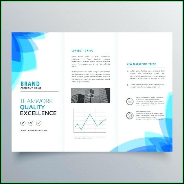 Free Tri Fold Brochure Template Word