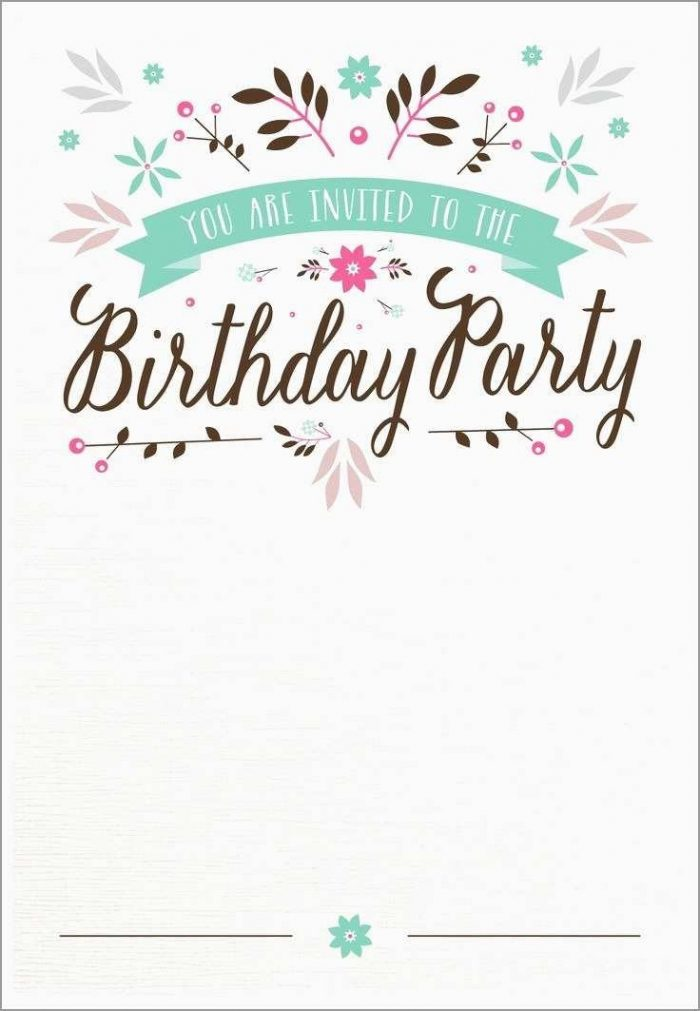 Pink Crown Invitation Template