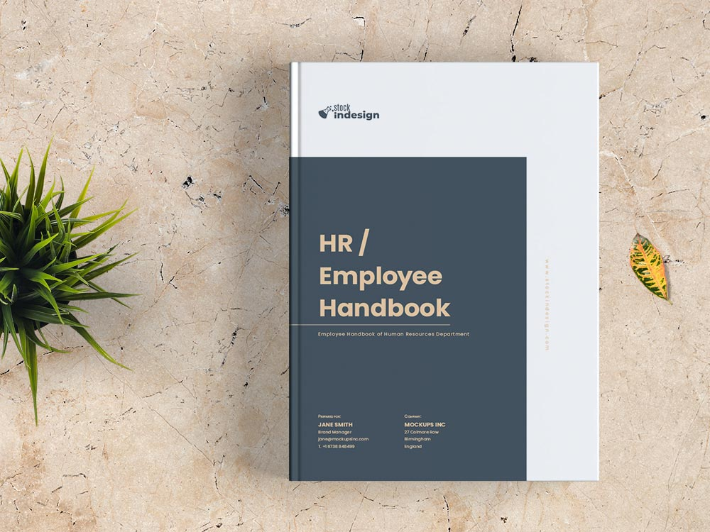 Template Employee Handbook Design