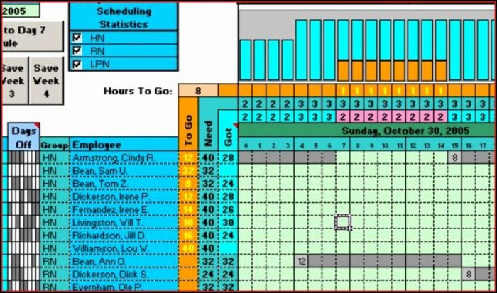 24 Hour Shift Schedule Template Excel