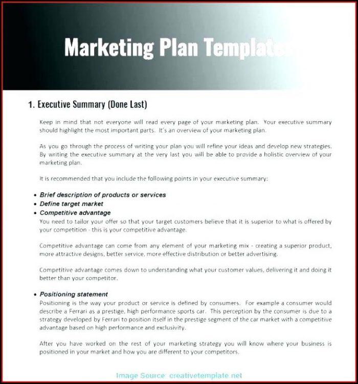 Apartment Marketing Plan Template