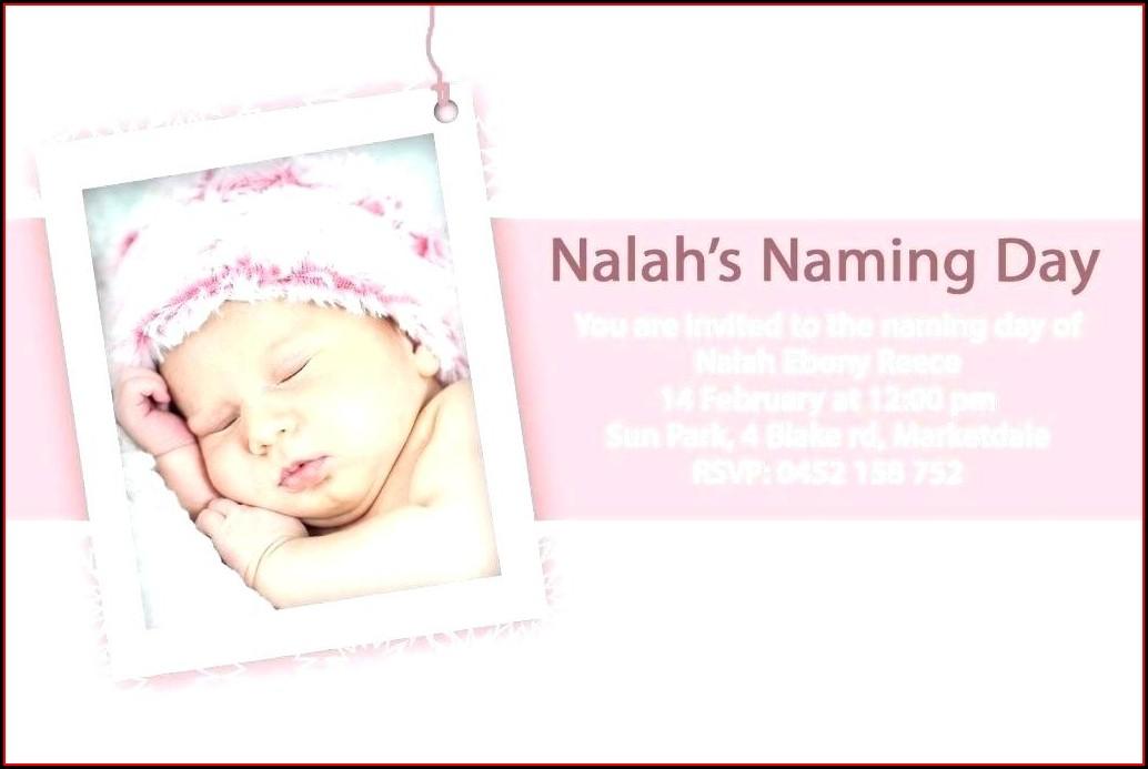 Baby Boy Christening Invitation Templates Free Printable