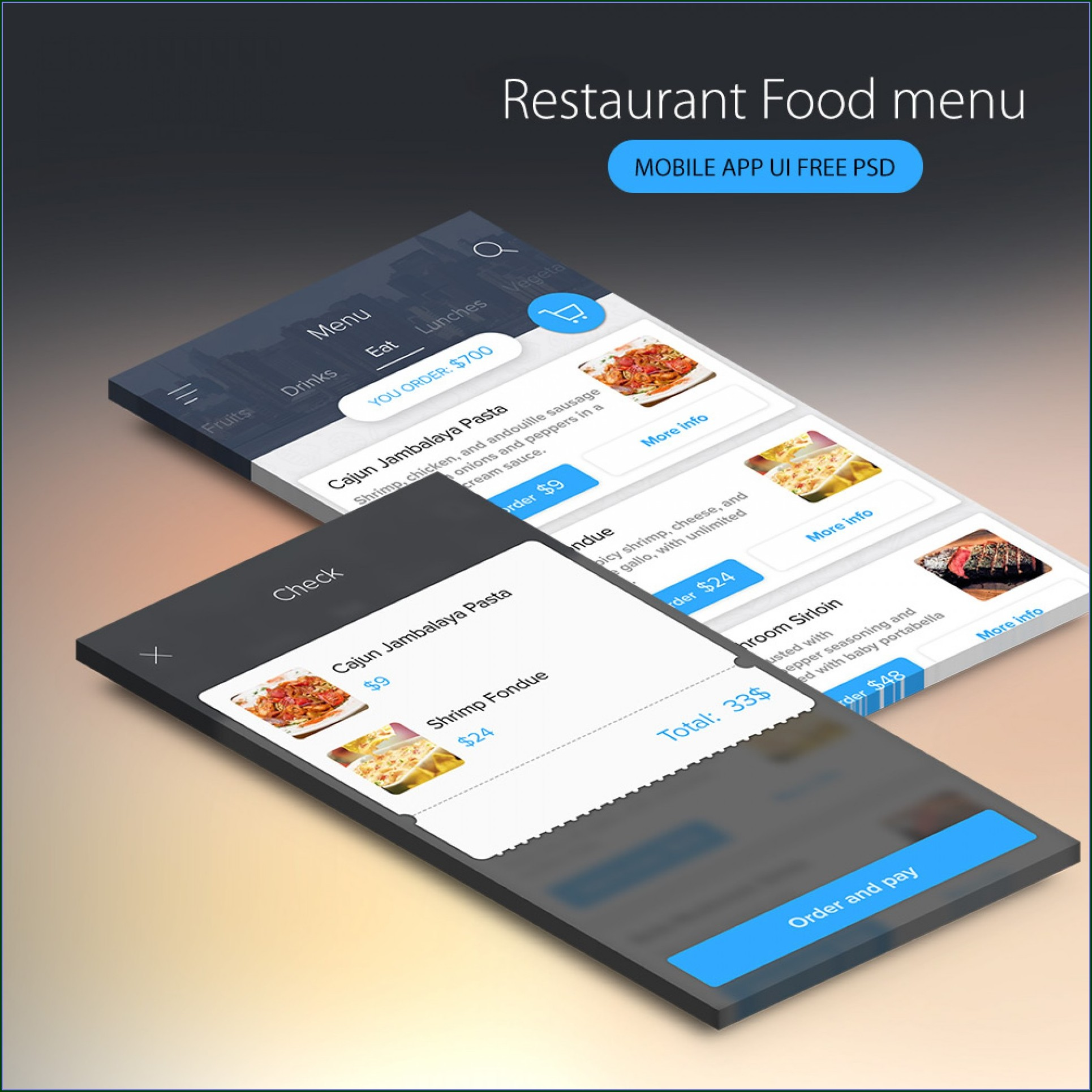 Bar Menu Design Templates Free Download