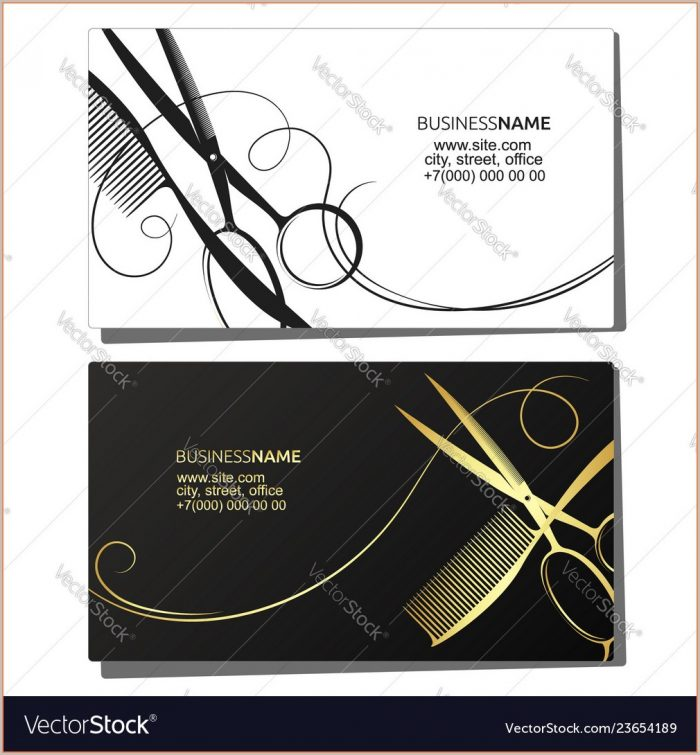 Beauty Salon Business Cards Templates Free
