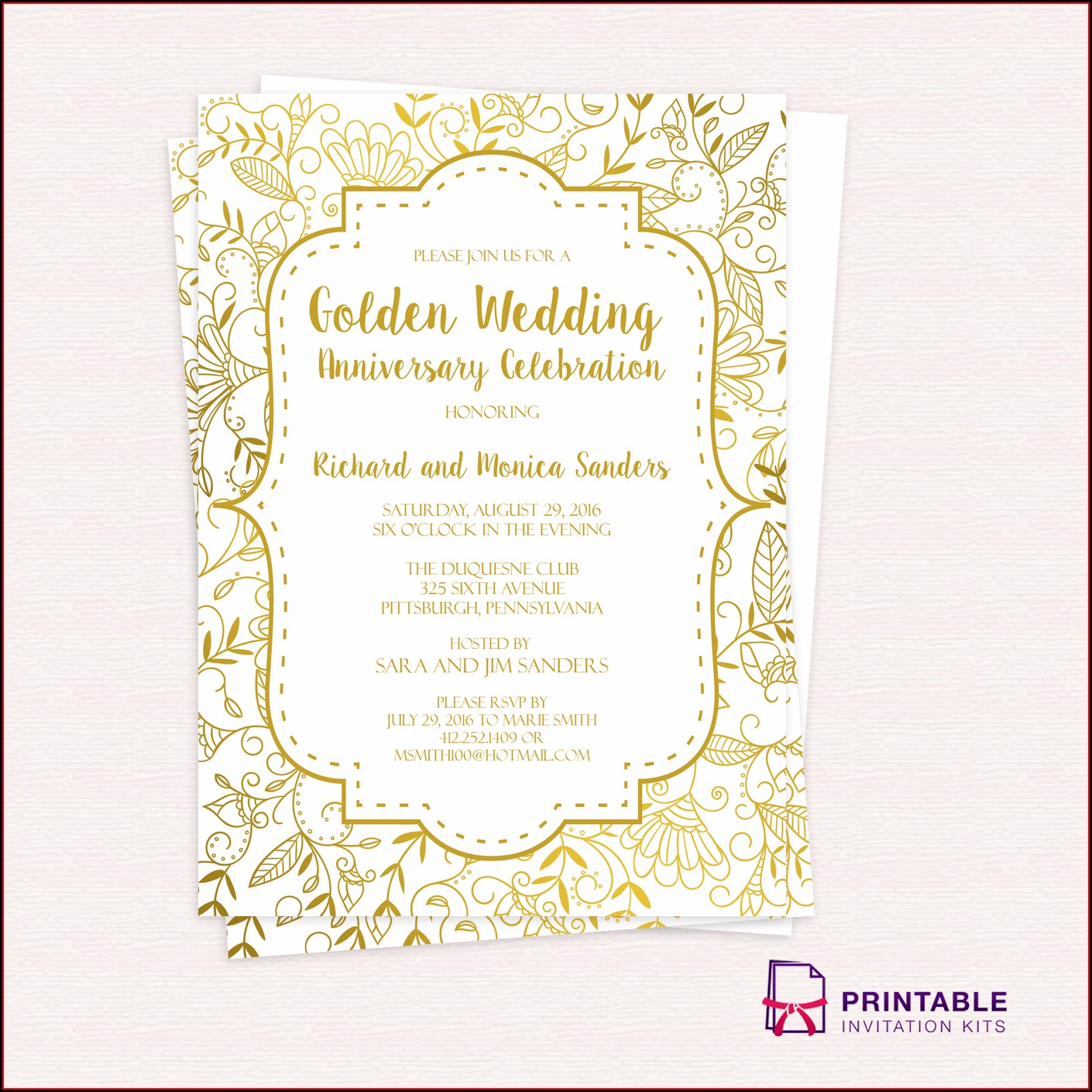 Blank Free Holiday Party Invitation Templates Word
