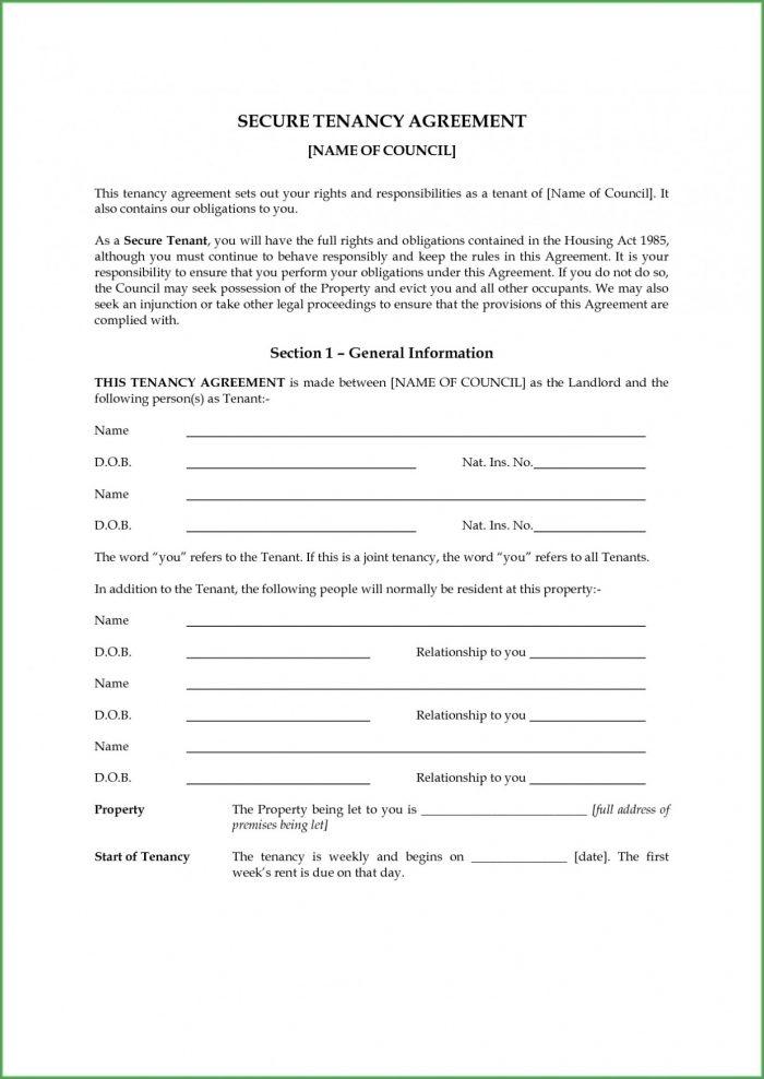 Car Rental Agreement Template Uk