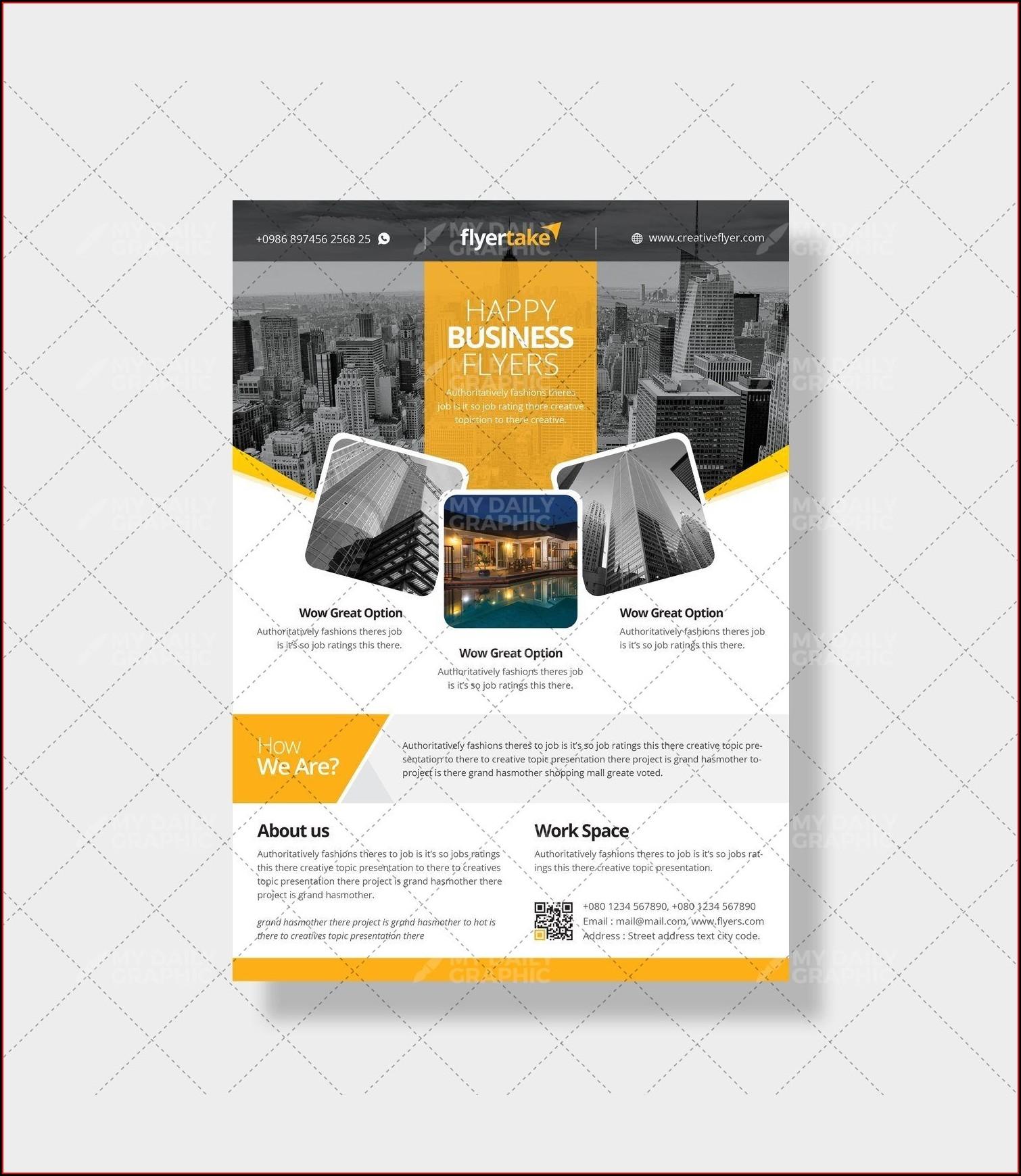 Catering Business Flyer Templates