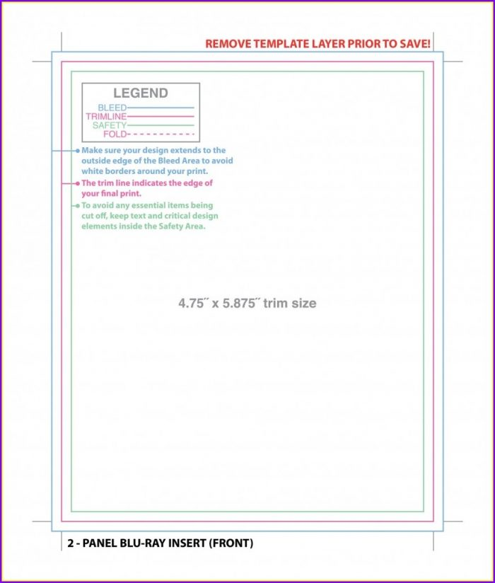 Cd Jewel Case Insert Template Word Free