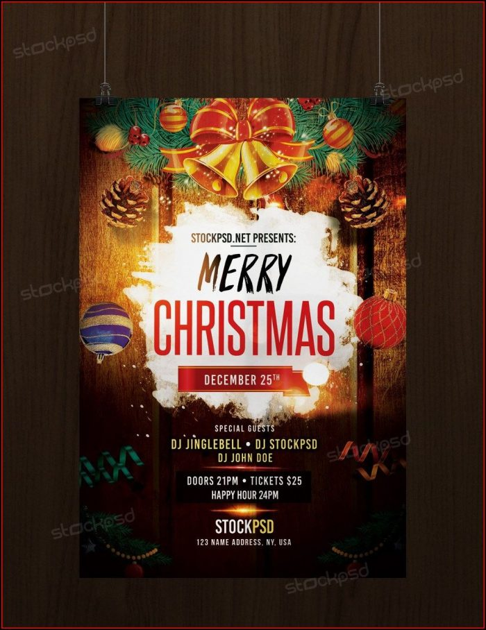 Christmas Flyer Template Download