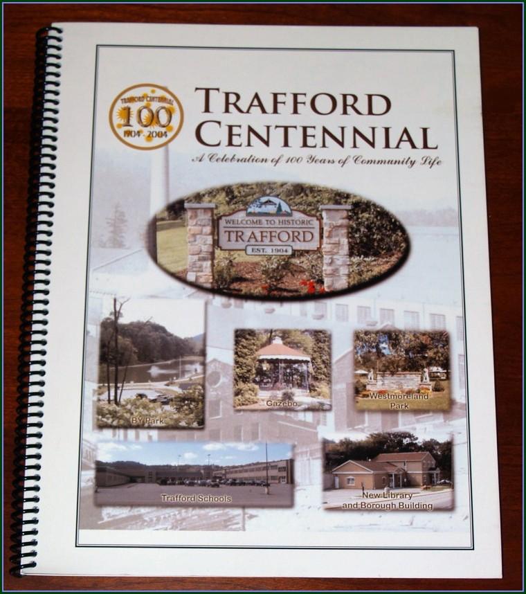 Church Anniversary Souvenir Booklet Template