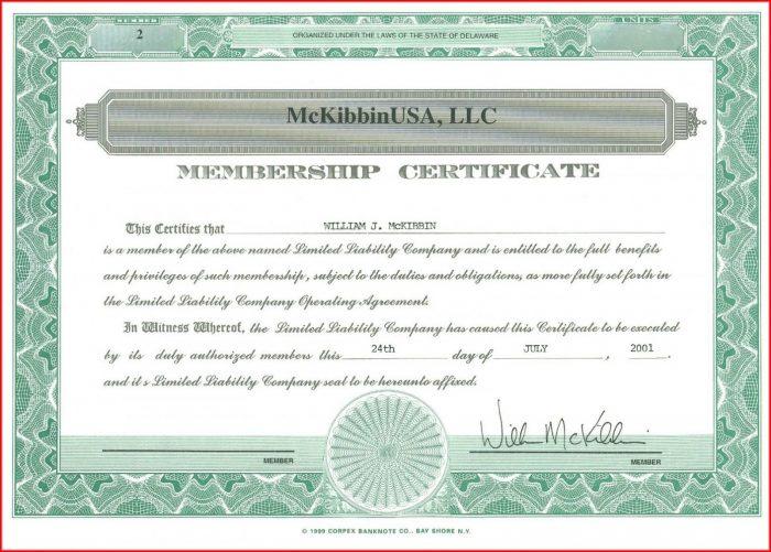 Church Member Church Membership Certificate Template