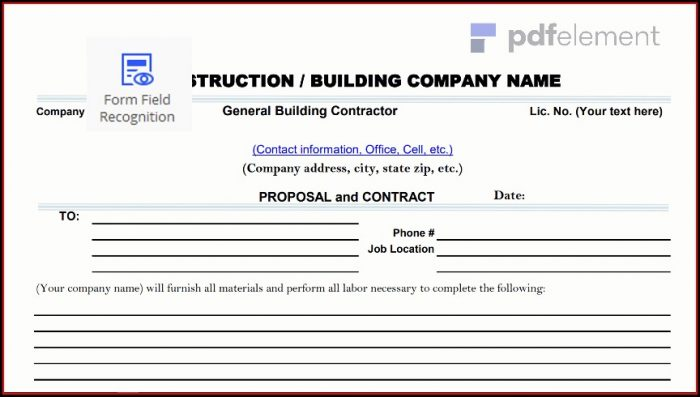 Construction Proposal Template Free Download (20)