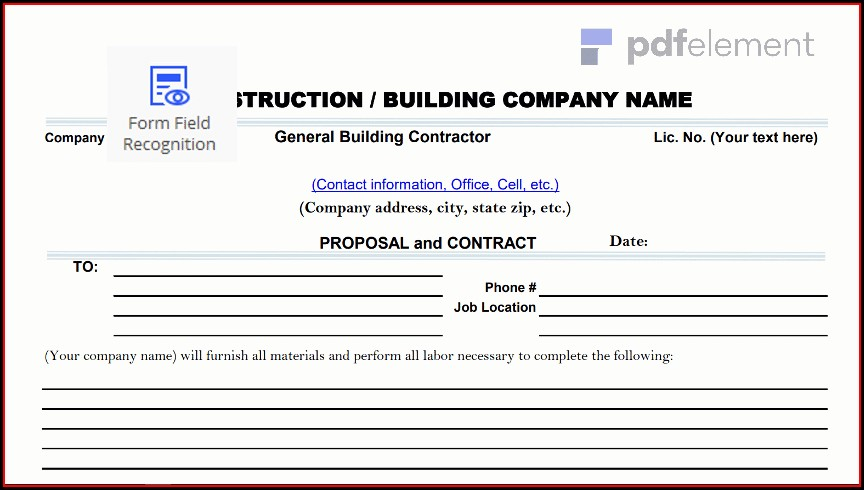 Construction Proposal Template Free Download (26)