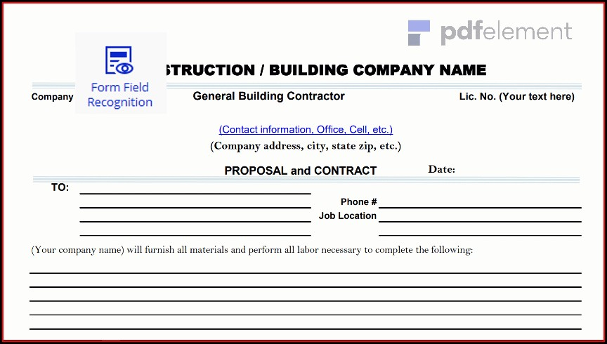 Construction Proposal Template Free Download (33)