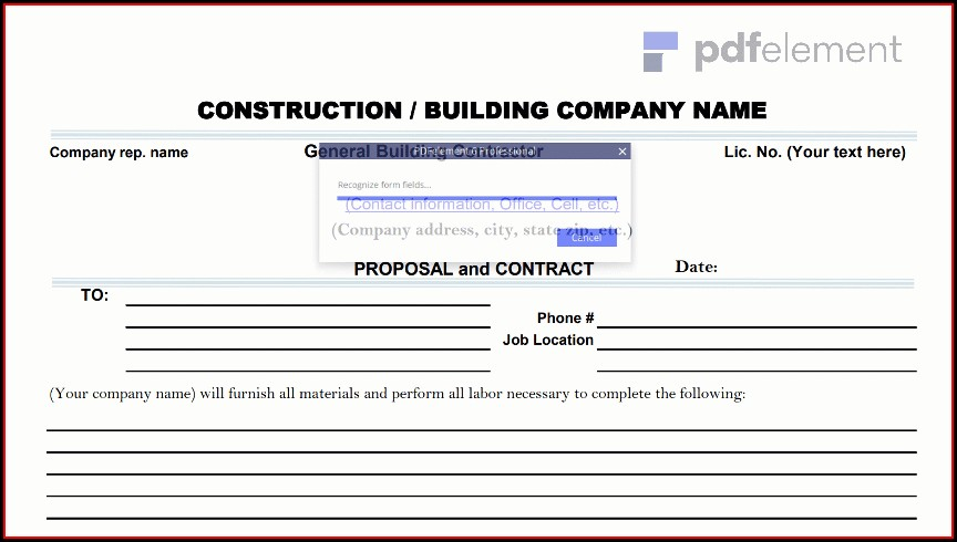 Construction Proposal Template Free Download (41)