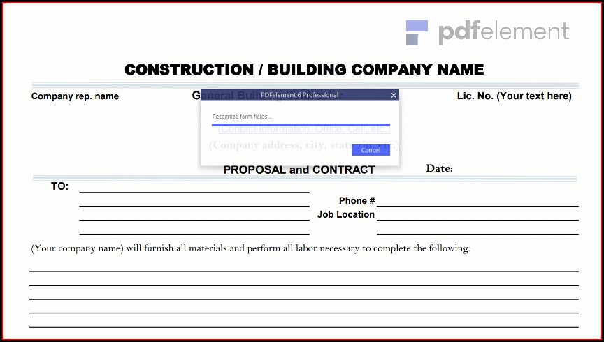 Construction Proposal Template Free Download (43)