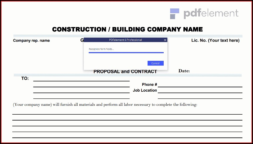Construction Proposal Template Free Download (50)