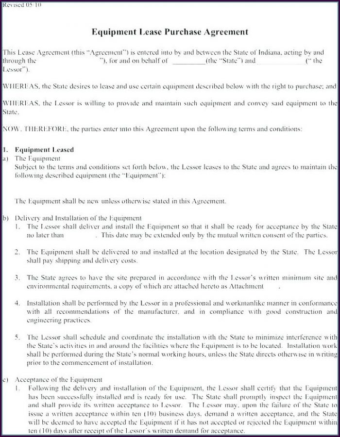 Construction Purchase Order Terms And Conditions Template