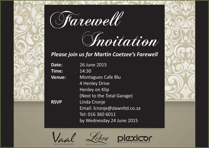 Corporate Event Event Invitation Email Template