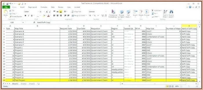 Customer Database Excel Template Real Estate