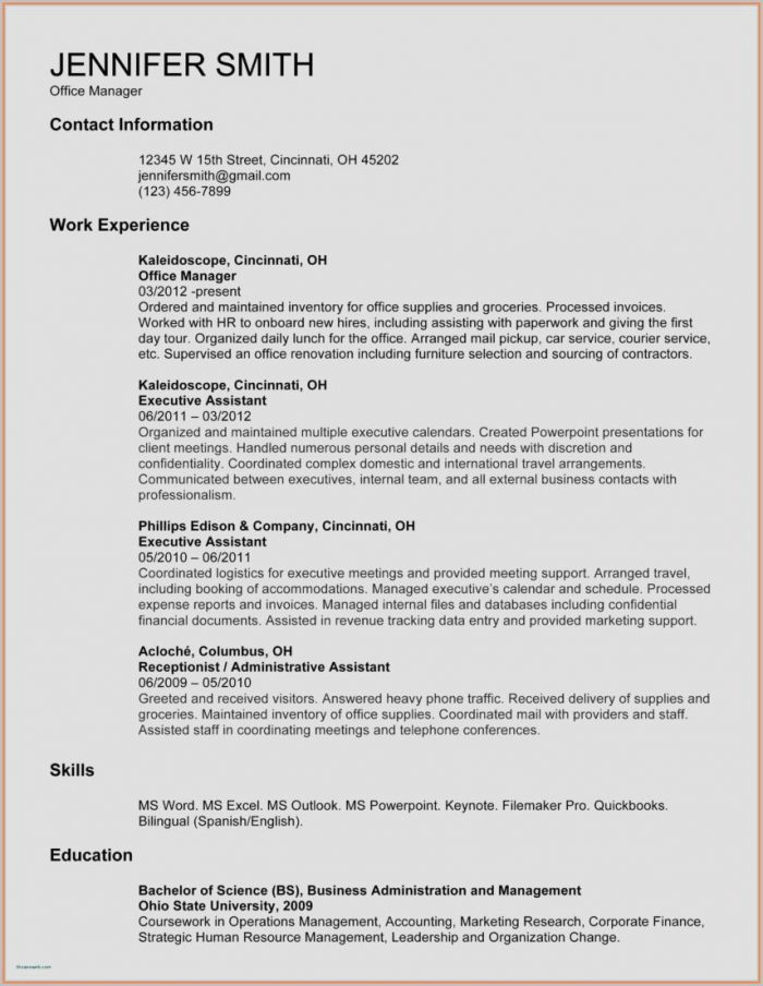 Customer Service Resume Templates Free