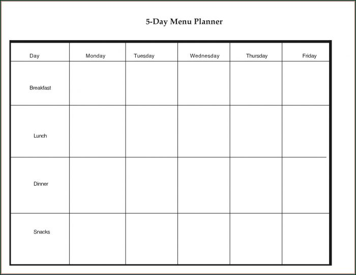 Daily Appointment Schedule Template Word