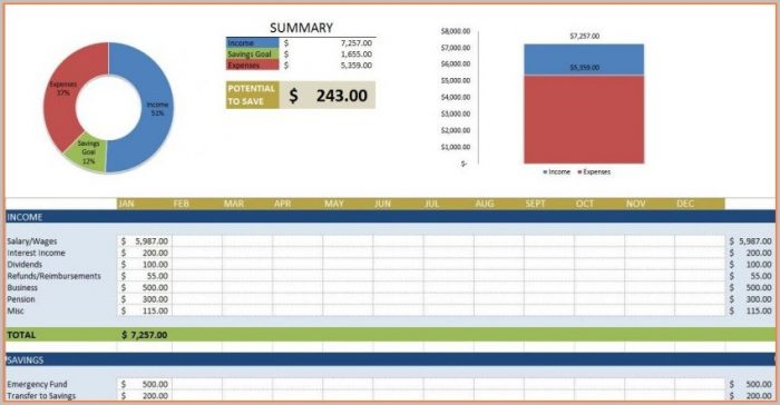 Daily Monthly Sales Report Template Excel Free