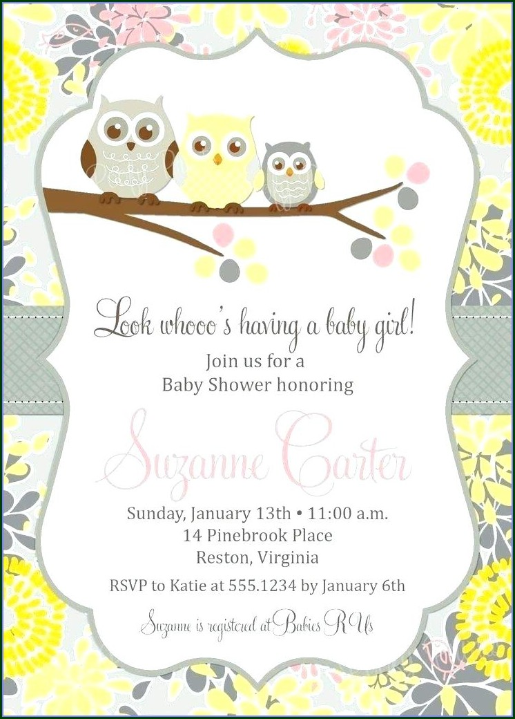 Downloadable Baby Shower Poster Template Free