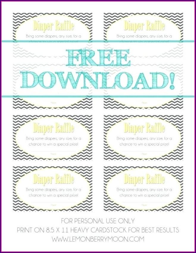 Downloadable Free Diaper Party Invitation Templates