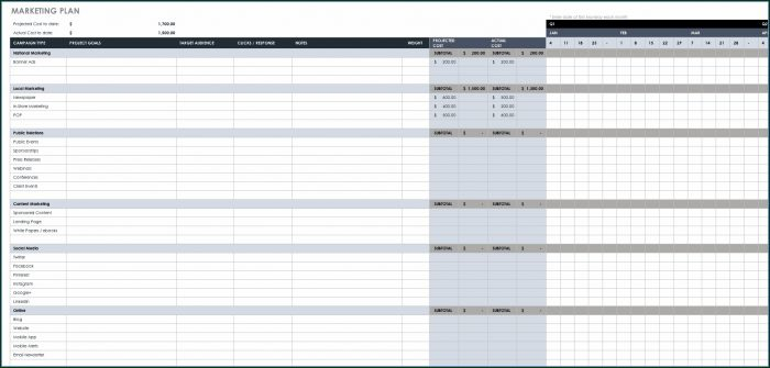 Downloadable Integrated Marketing Plan Template