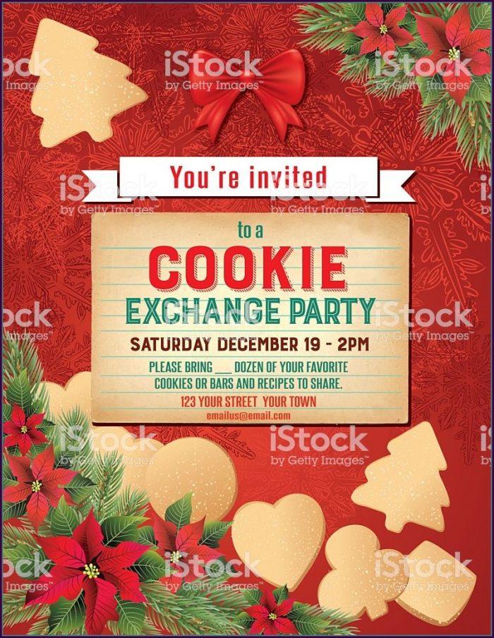 Editable Free Printable Christmas Invitation Templates
