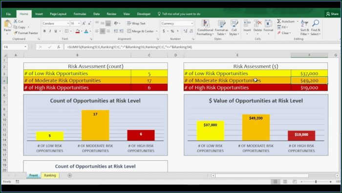 Enterprise Risk Assessment Template Excel