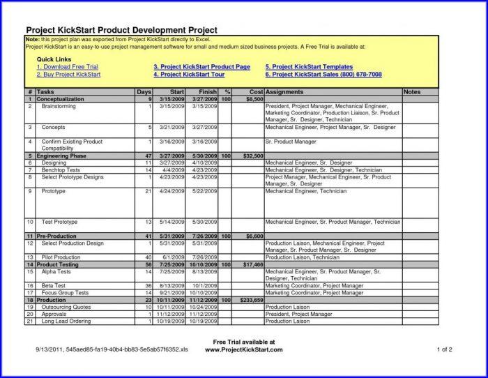 Erp Implementation Plan Template Excel