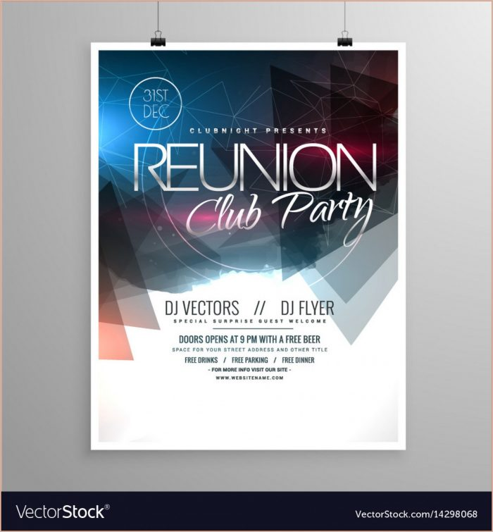 Event Free Flyer Design Templates