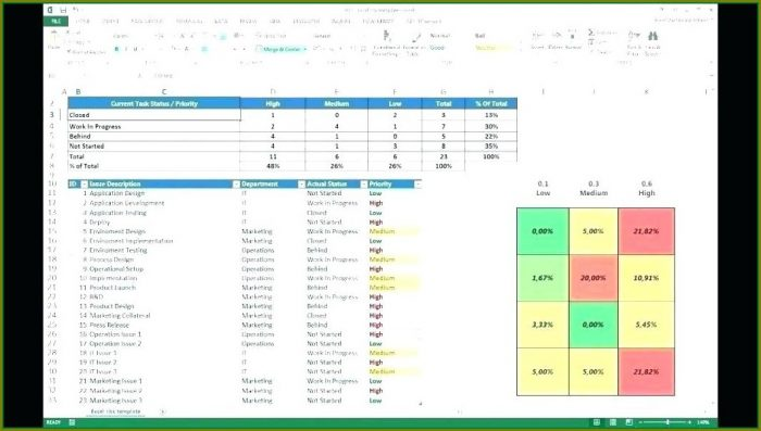 Excel Bank Compliance Risk Assessment Template
