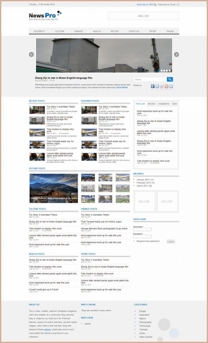 Flashmint Website Templates