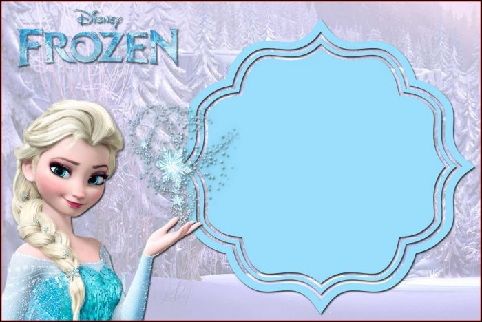 Free Frozen Invitation Template Download