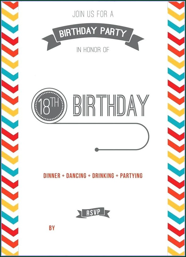 Free Printable Teenage Birthday Invitations Templates Free