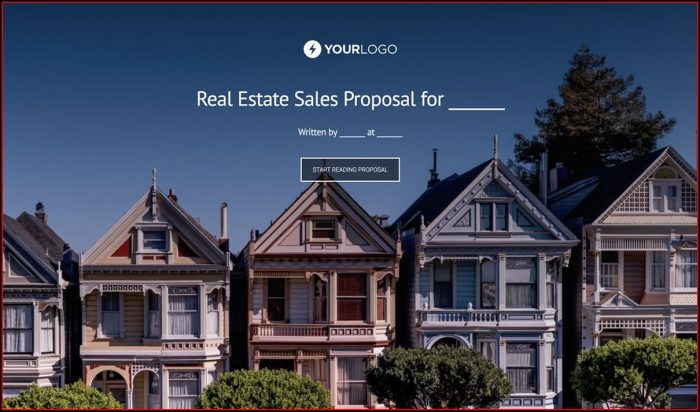 Free Real Estate Proposal Template
