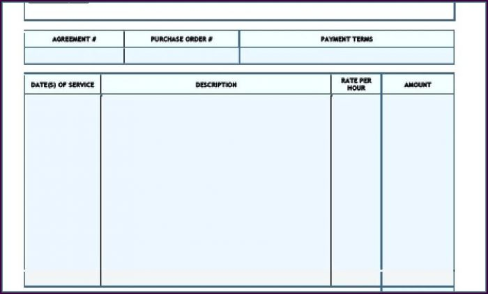 Free Self Employed Contract Template