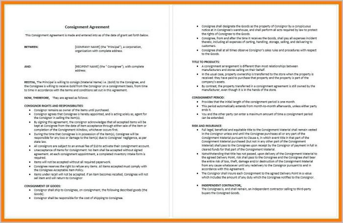 Freelance Bookkeeping Contract Template