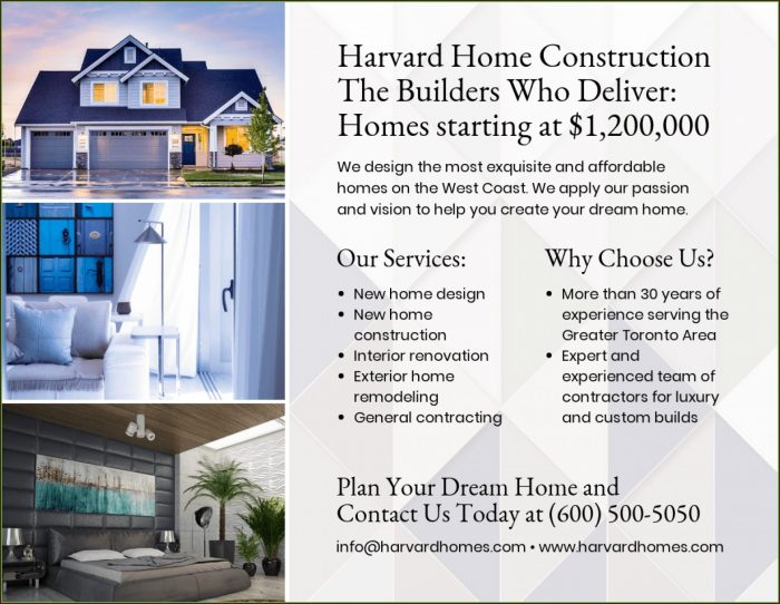 Home For Sale Flyer Free Template