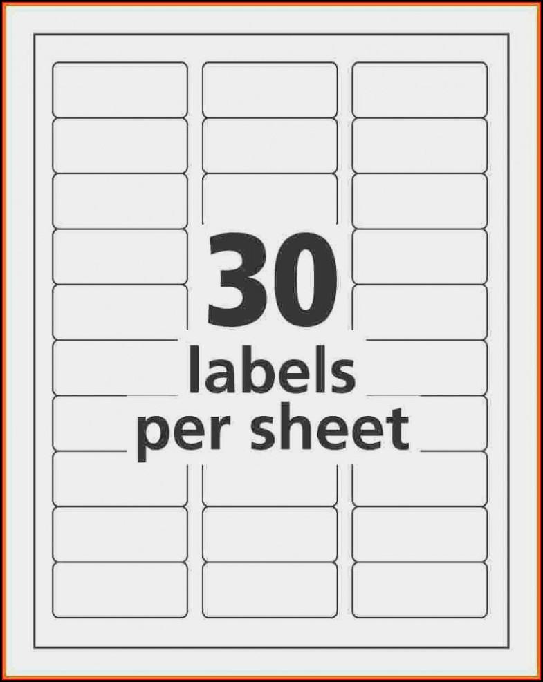 Hon File Cabinet Label Template