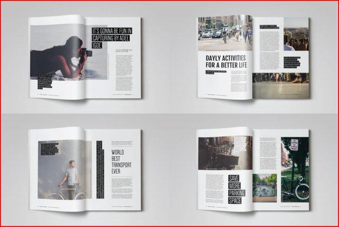 Indesign Magazine Templates Free Download