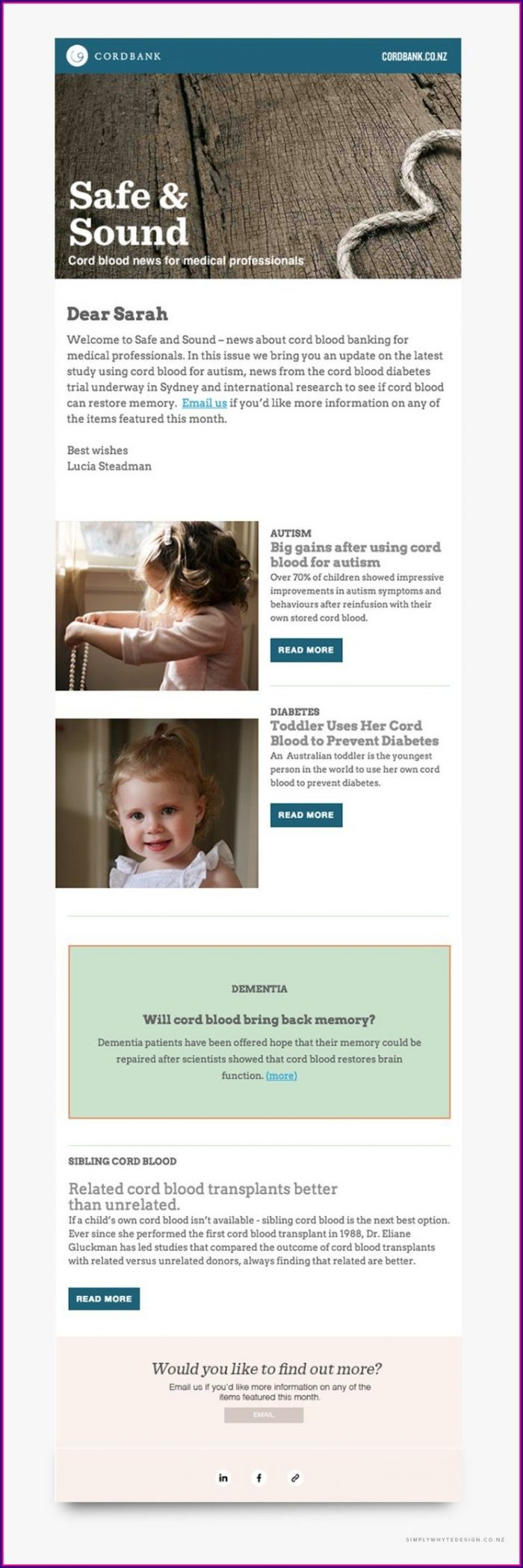 Inspiration Mailchimp Email Templates