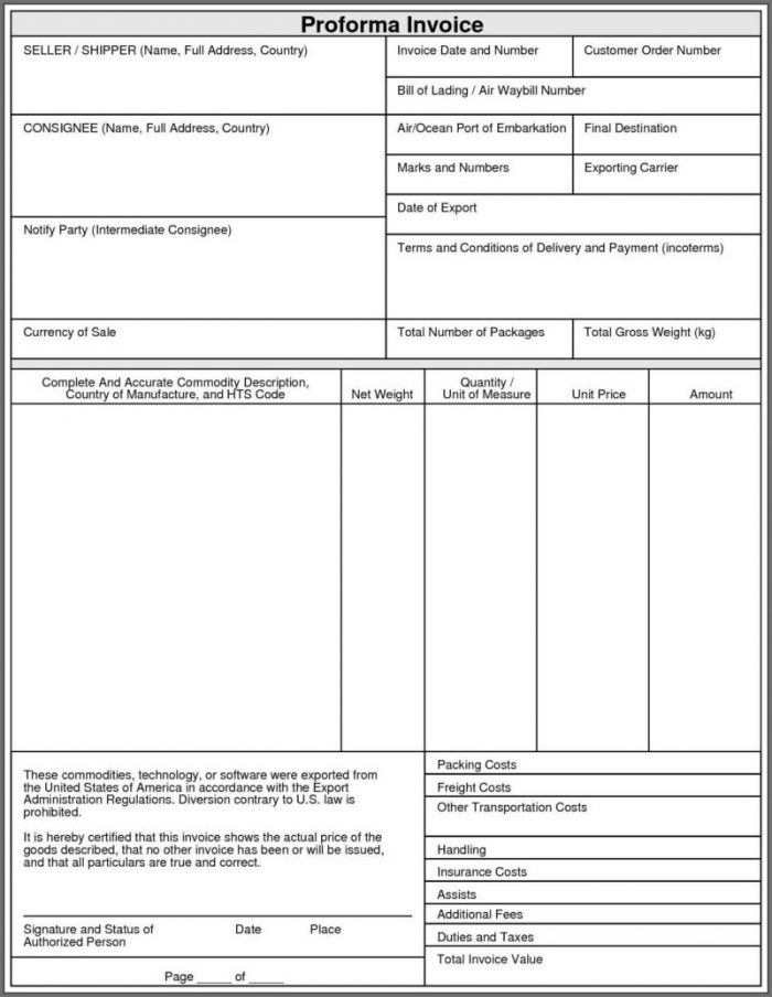 Invoice Record Keeping Template Excel