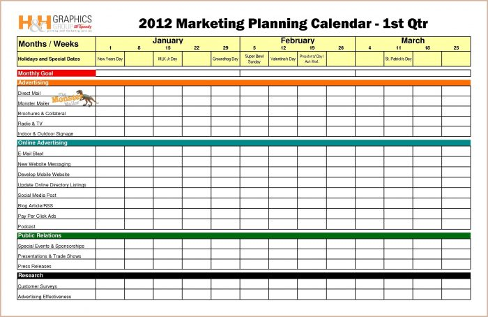 Marketing Kpi Excel Template