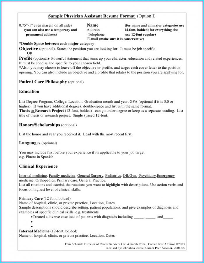 Medical Doctor Resume Template