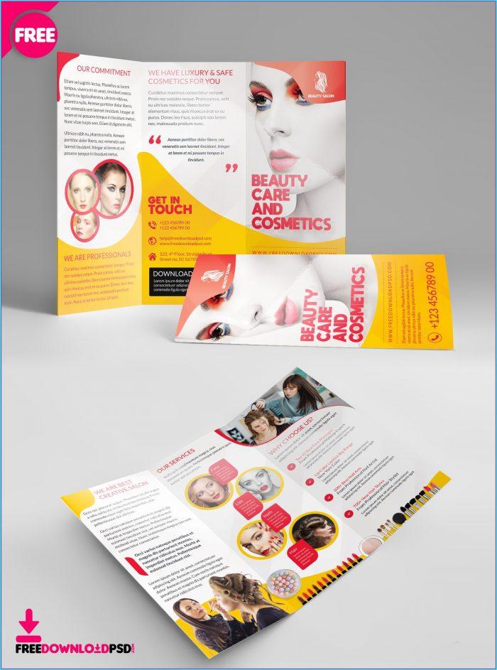 Nail Salon Brochure Templates Free
